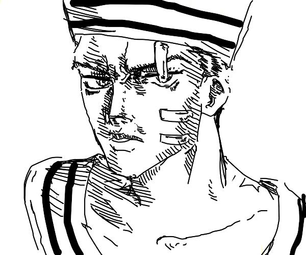 angry sailor