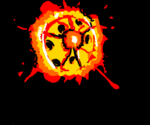 Cheese moon exploding