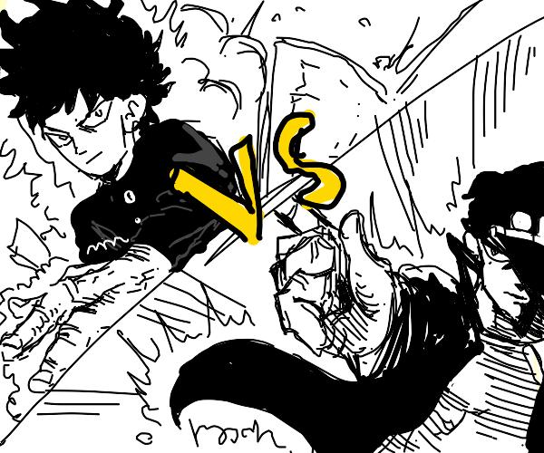 Mob (Mob Psycho 100) vs Jotaro (Jojo's)