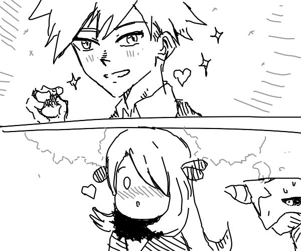 Pokemon trainers in love