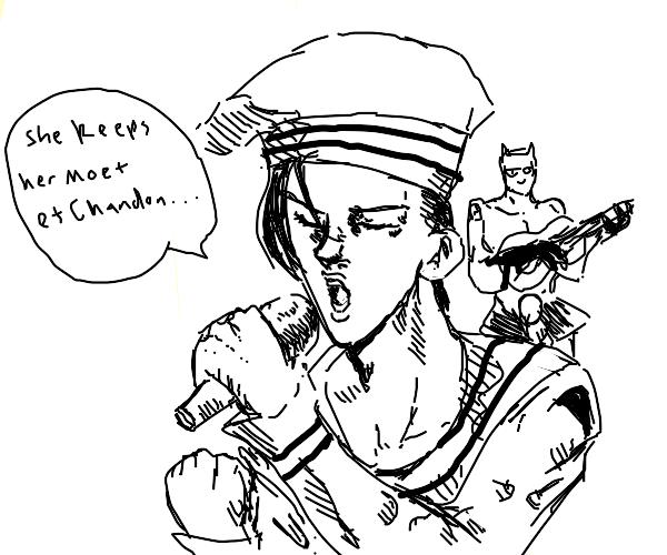 Kira singing killer queen by queen