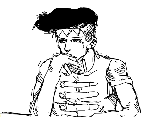 Kishibe Rohan is bored out of his mind
