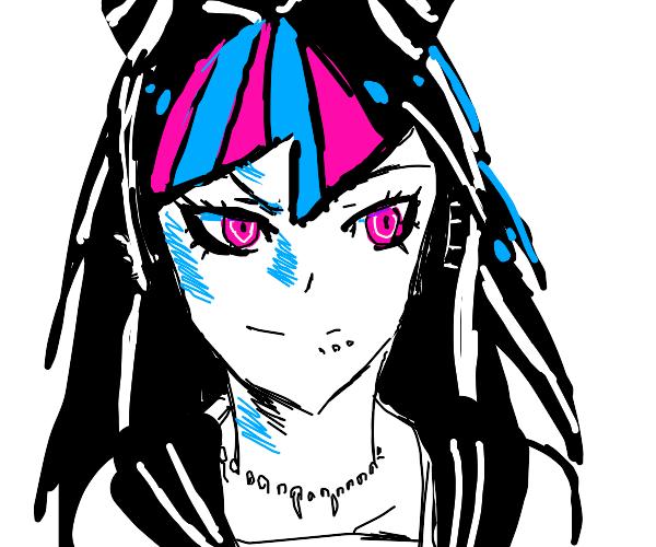 Ibuki Mioda from Danganronpa!