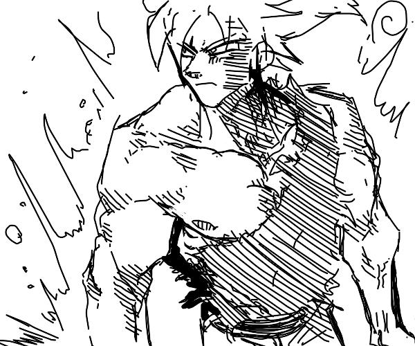 Goku Super Saiyan.