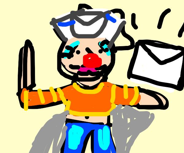 Goofy Mailman