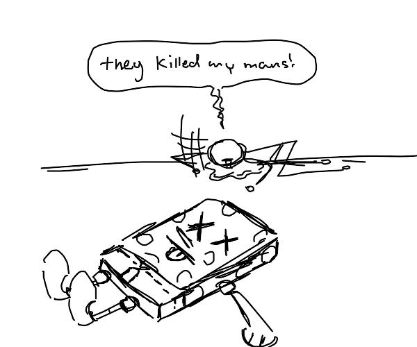 spongebob is dead