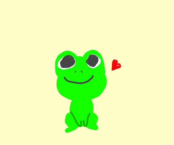 I need an emotional support frog