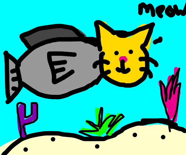 Literally a catfish