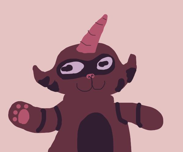 raccoon-icorn!