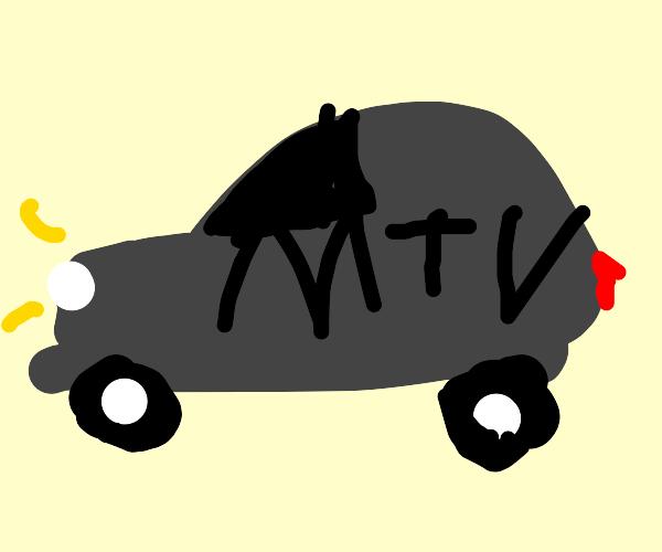 Mtv branded car.