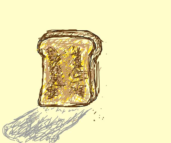 Realistic toast