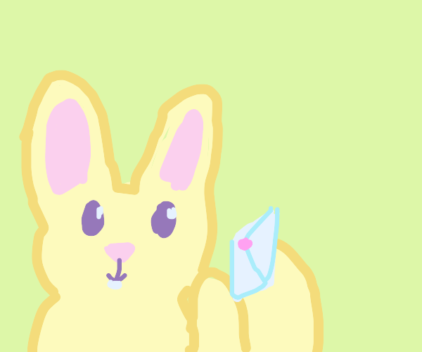 Bunny gets a letter