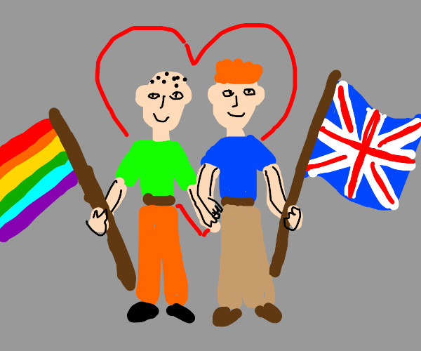 gay couple from britain