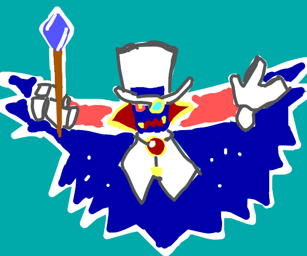 Count Bleck [Super Paper Mario]