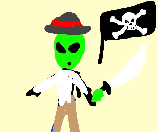 alien pirate