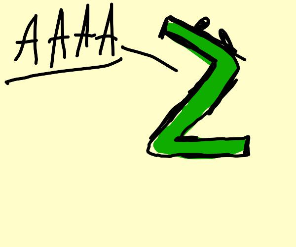 yelling Z