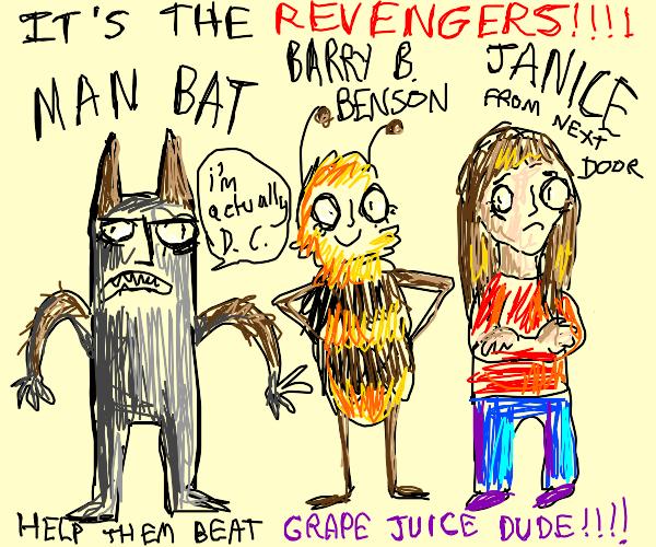 the bootleg avengers