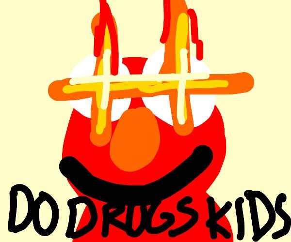 Elmo telling kids to do drugs
