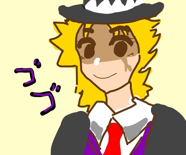 A jojo character