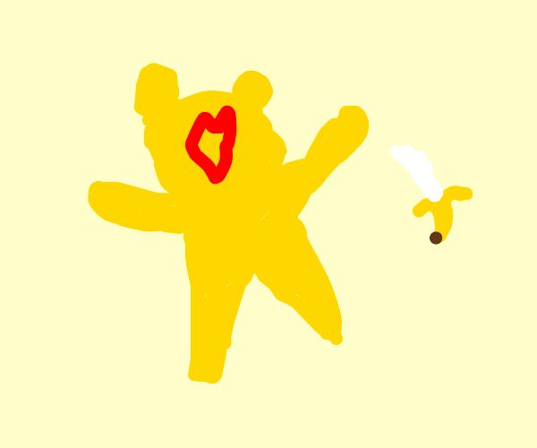 banana care bear