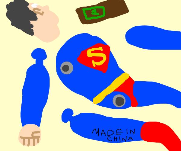 Superman is broke