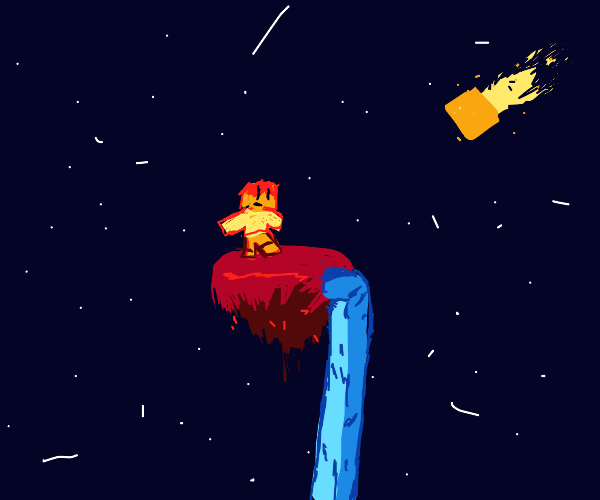 Skyblock in space