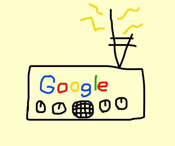 A Google radio.
