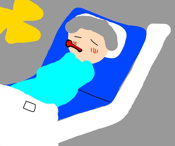 Your mother suffer from coronavirus