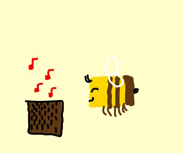 Da bee needs music