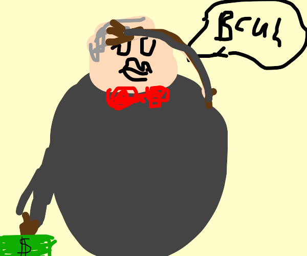 Large Rich Man says Bruh