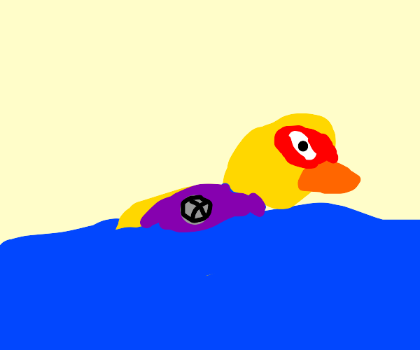 duck X-ing
