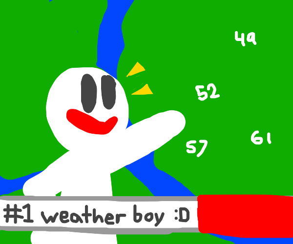 guy wins as best forecaster
