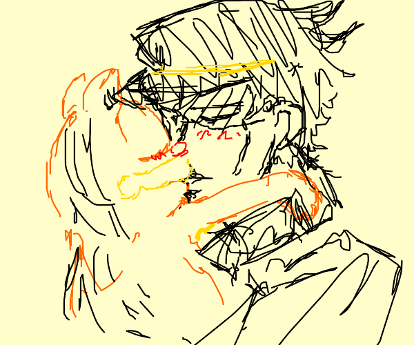Garfield and Jotaro are in love