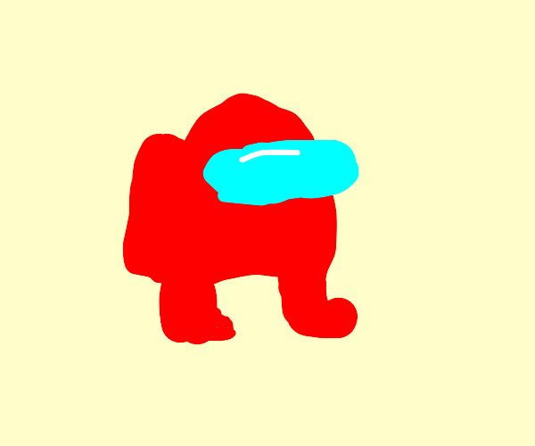 Red among us guy