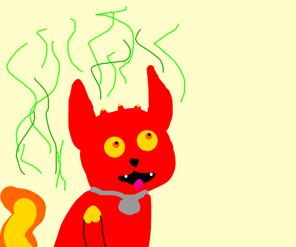 radioactive hot dog