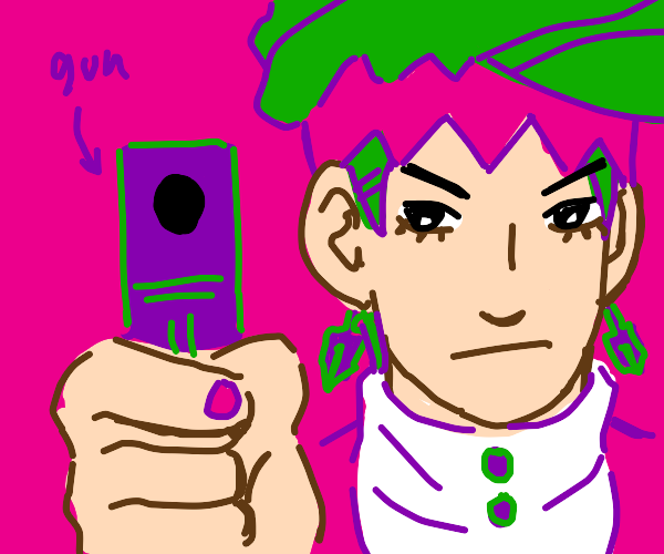 rohan holds you at gunpoint