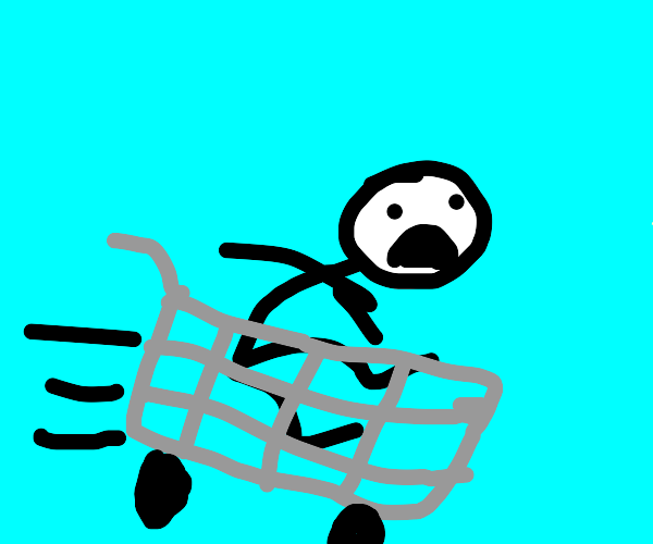 Falling to your death in a shopping cart