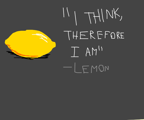 philosophical lemon