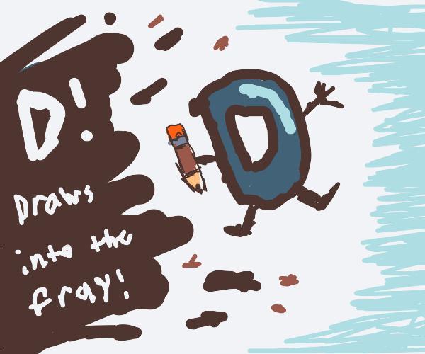 drawception D joins smash