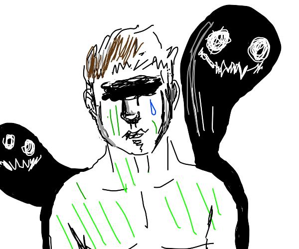 hulk is depressed