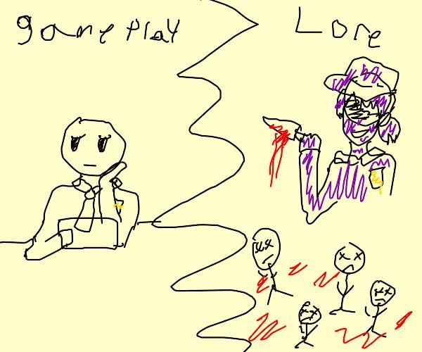 FNAF gameplay vs FNAF lore