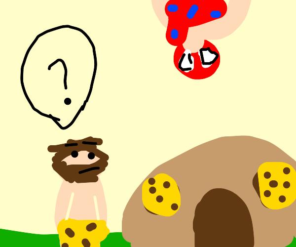 Prehistoric Spiderman