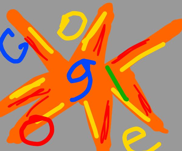 google explodes