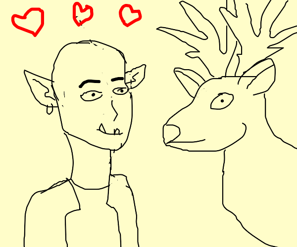 Orc loves Moose