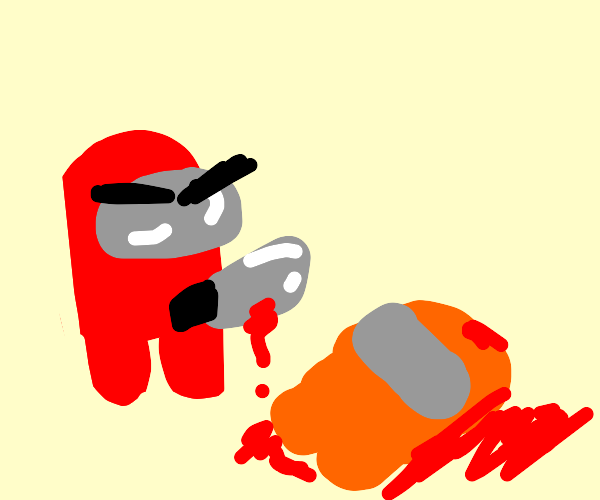 Red imposter goes killing again