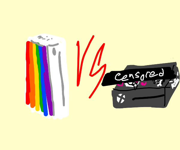 Gay Wii vs nsfw xbox