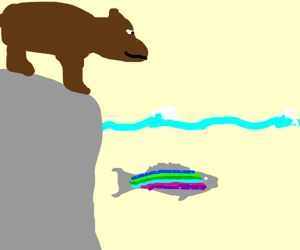 Lost Rainbow Trout