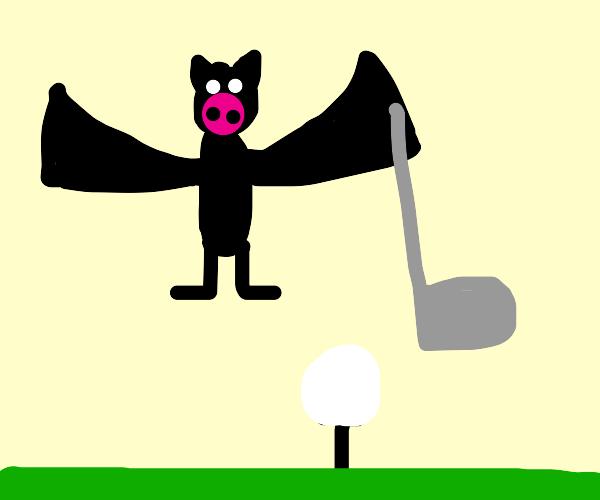 Bat Golfing