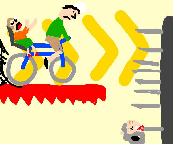 Happy Wheels(Adobe Flash Game)