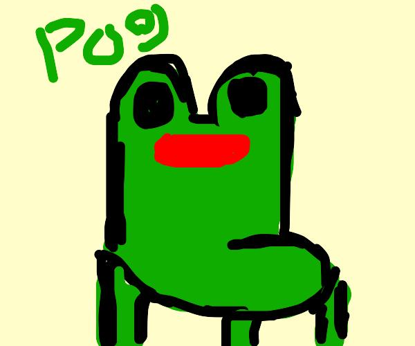 Froggy Chair Drawception